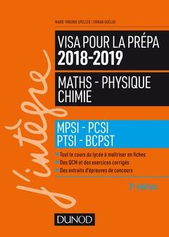 Visa Pour La Prepa 2018 2019 Maths Physique Chimie Speller Marie Virginie Guelou Erwan