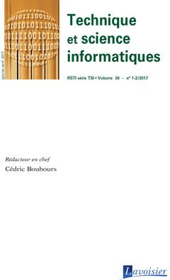 Couverture de l'ouvrage Technique et science informatiques RSTI série TSI Volume 36 N° 1-2/Janvier-Avril 2017