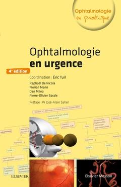 Couverture de l'ouvrage Ophtalmologie en urgence
