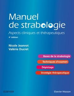 Couverture de l'ouvrage Manuel de strabologie