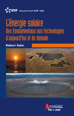 Couverture de l'ouvrage L'énergie solaire
