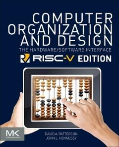 Couverture de l'ouvrage Computer Organization and Design RISC-V Edition