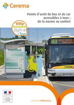 Couverture de l'ouvrage Points d' arrêt de bus et de car accessibles à tous
