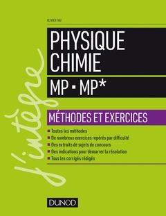 Couverture de l'ouvrage Physique-Chimie MP - MP*