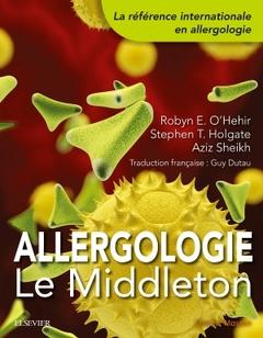 Couverture de l'ouvrage Allergologie : le middleton