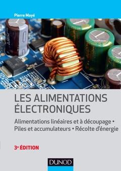 Couverture de l'ouvrage Les alimentations électroniques