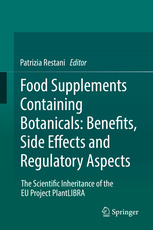 Cover of the book Food Supplements Containing Botanicals: Benefits, Side Effects and Regulatory Aspects