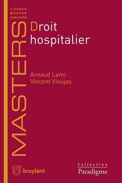 Couverture de l'ouvrage Droit hospitalier