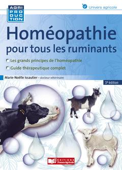 Couverture de l'ouvrage Homéopathie pour les ruminants