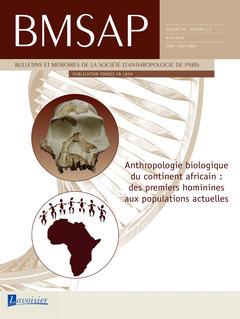 Couverture de l'ouvrage BMSAP Vol. 30 N° 1-2  Avril 2018