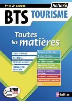 Couverture de l'ouvrage BTS Tourisme