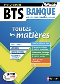 Couverture de l'ouvrage BTS Banque - Option Conseiller de clientèle (particuliers)