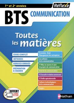 Couverture de l'ouvrage BTS Communication