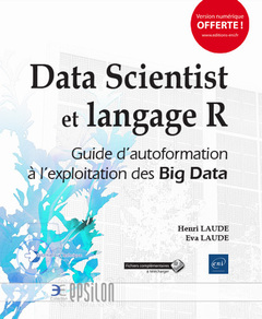 Couverture de l'ouvrage Data Scientist et langage R