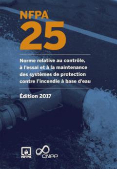 Couverture de l'ouvrage NFPA 25