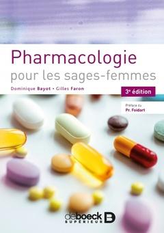 Couverture de l'ouvrage Pharmacologie pour les sages-femmes