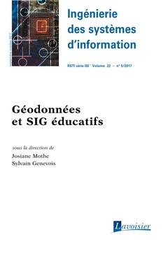 Couverture de l'ouvrage Ingénierie des systèmes d'information RSTI série ISI Volume 22 N° 5 - Septembre-Octobre 2017