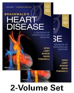 Cover of the book Braunwald's Heart Disease: A Textbook of Cardiovascular Medicine, 2-Volume Set (11th Ed.)