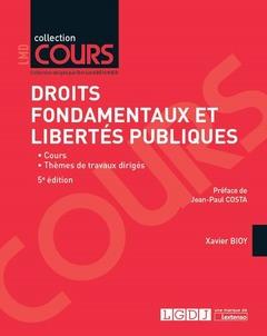 Couverture de l'ouvrage Droits fondamentaux et libertés publiques