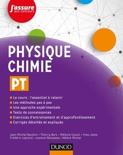 Couverture de l'ouvrage Physique-Chimie PT