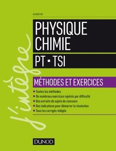 Couverture de l'ouvrage Physique-Chimie - PT-TSI