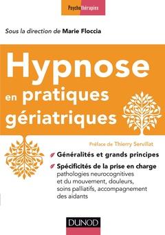 Couverture de l'ouvrage Hypnose en pratiques gériatriques