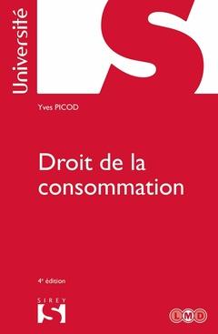 Couverture de l'ouvrage Droit de la consommation