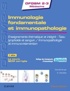 Cover of the book Immunologie fondamentale et immunopathologie