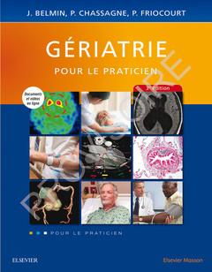 Couverture de l'ouvrage Gériatrie, pour le praticien