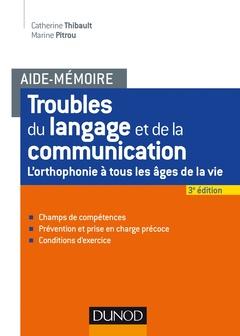 Couverture de l'ouvrage Aide-mémoire - Troubles du langage et de la communication