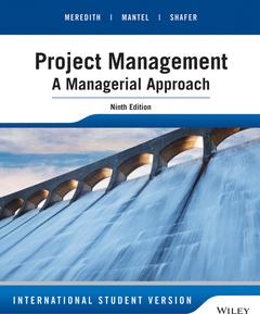 Couverture de l'ouvrage Project Management (9th Ed.)