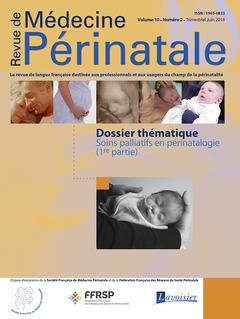 Couverture de l'ouvrage Soins palliatifs en périnatalogie - 1ère partie