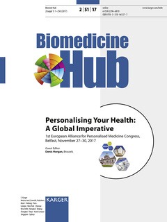 Couverture de l'ouvrage Personalising Your Health: A Global Imperative