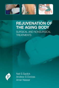 Couverture de l'ouvrage Rejuvenation of the Aging Body