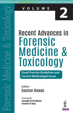 Cover of the book Recent Advances in Forensic Medicine and Toxicology - Vol.2