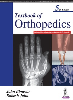 Couverture de l'ouvrage Textbook of Orthopedics