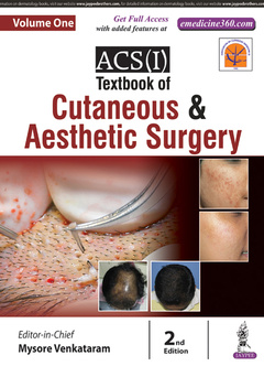 Couverture de l'ouvrage ACS(I) Textbook on Cutaneous & Aesthetic Surgery