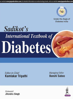 Cover of the book Sadikot's International Textbook of Diabetes