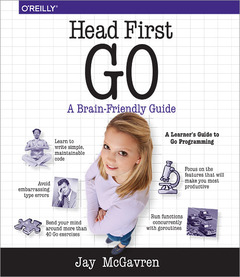 Couverture de l'ouvrage Head First Go