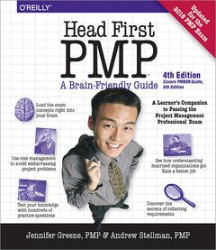 Couverture de l'ouvrage Head First PMP