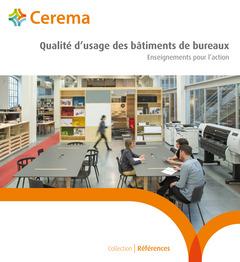 Couverture de l'ouvrage Qualité d'usage des bâtiments de bureau