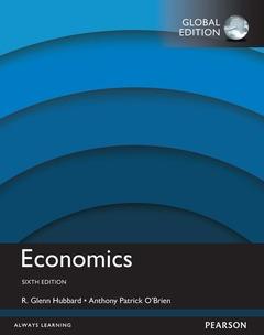 Couverture de l'ouvrage Economics, Global Edition