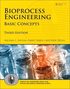 Couverture de l'ouvrage Bioprocess Engineering