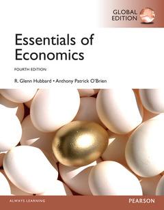 Couverture de l'ouvrage Essentials of Economics, Global Edition