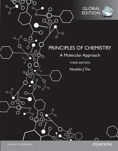 Couverture de l'ouvrage Principles of Chemistry: A Molecular Approach, Global Edition