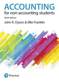 Couverture de l'ouvrage Accounting for Non-Accounting Students 9th Edition