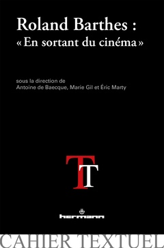 Couverture de l'ouvrage Roland Barthes : « En sortant du cinéma »