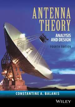 Couverture de l'ouvrage Antenna Theory, 4th Ed