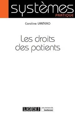Couverture de l'ouvrage Les droits des patients