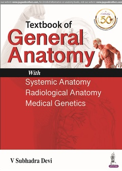 Couverture de l'ouvrage Textbook of General Anatomy